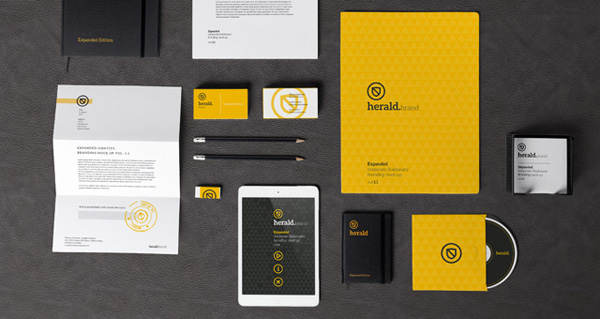 8 angled clay mockups are a free psd template that can be used for personal or commercial purposes like in corporate branding, digital advertisement and online web media. 8 Free Corporate Identity Mockup Templates