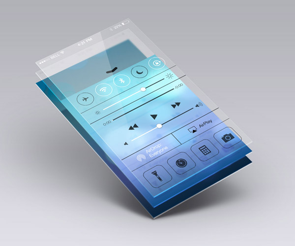 Perspective App Screen Mock-Up