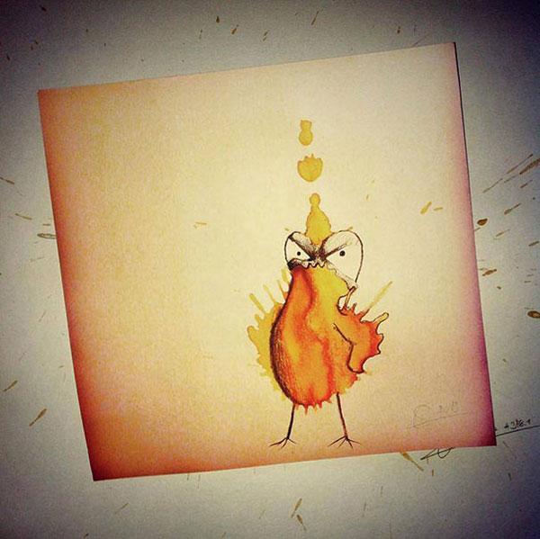 coffee-mancha-Doodle-monstruos-coffeemonsters-stefan-kuhnigk67
