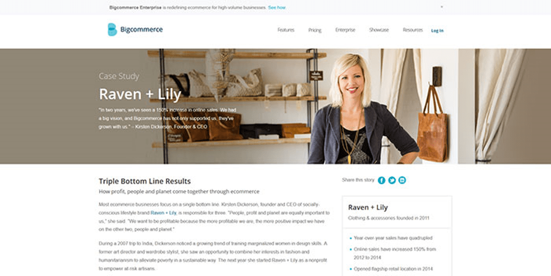 Use pictures on testimonials