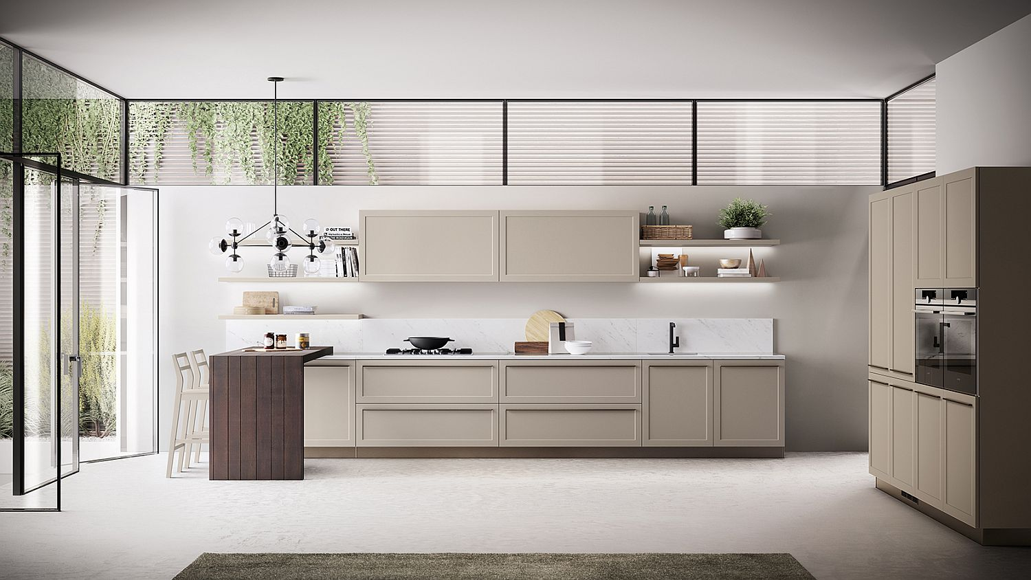 Classic-Contemporary Kitchen Designs on Images Of Modern Kitchens  id=39719