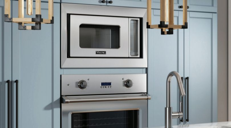 viking 27 wall oven microwave combo