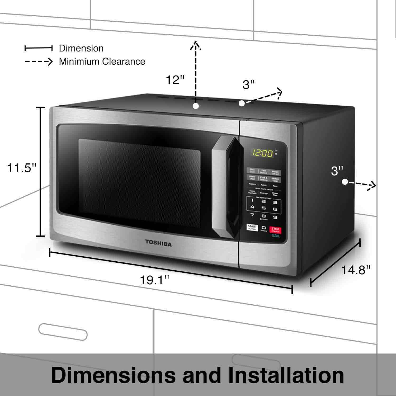 toshiba em925a5a microwave review