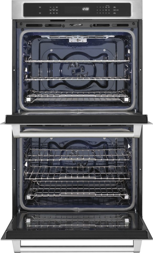 KitchenAid KEBS209BSP 30 Double Electric Wall Oven With 5