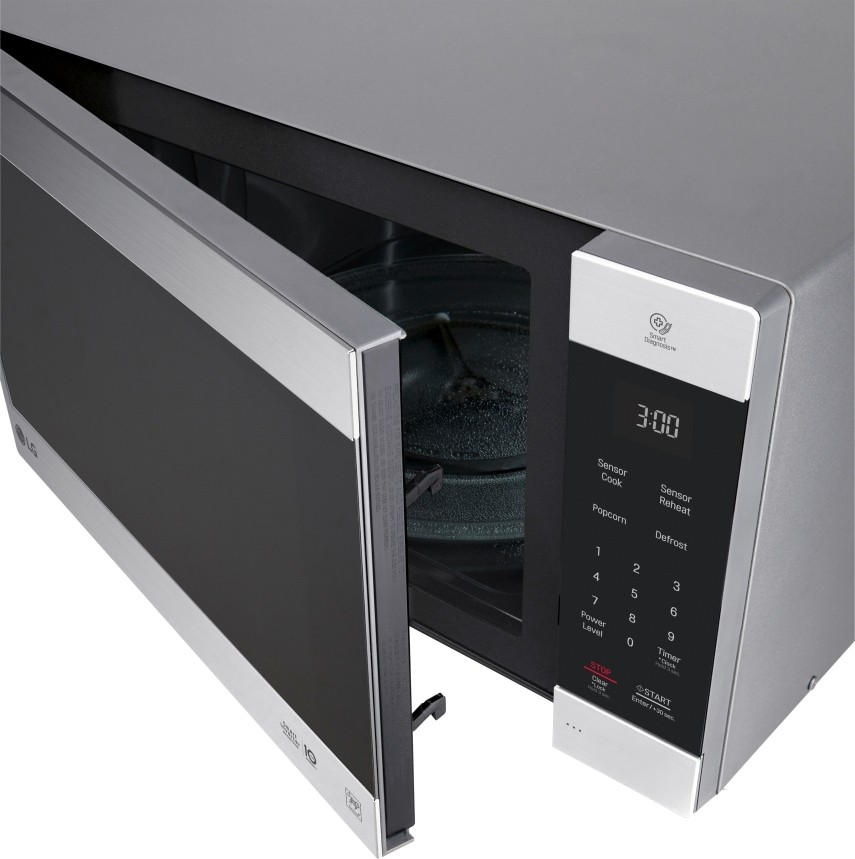 lg lmc2075st 2 0 cu ft countertop microwave with neochef