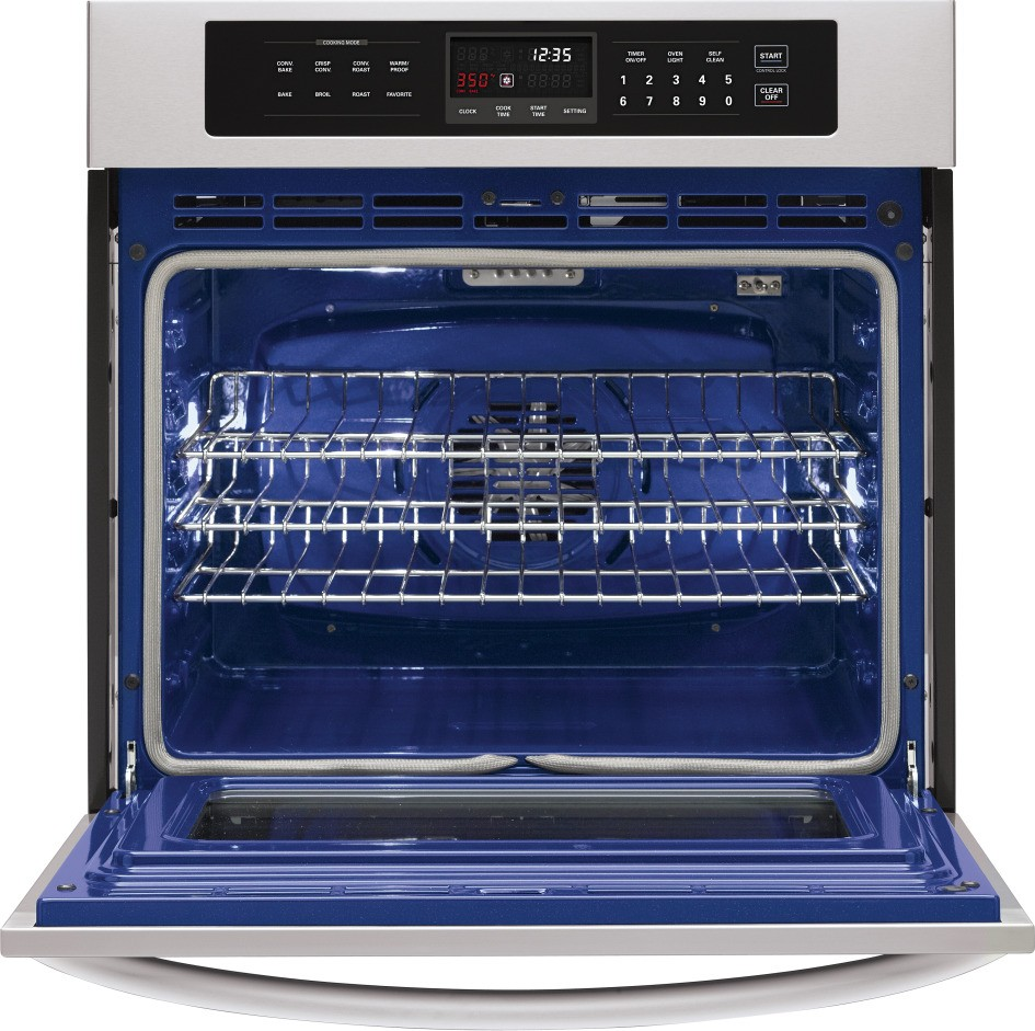 LG LWS3010ST 30 Single Electric Wall Oven With 47 Cu Ft Capacity Convection BakeBroil
