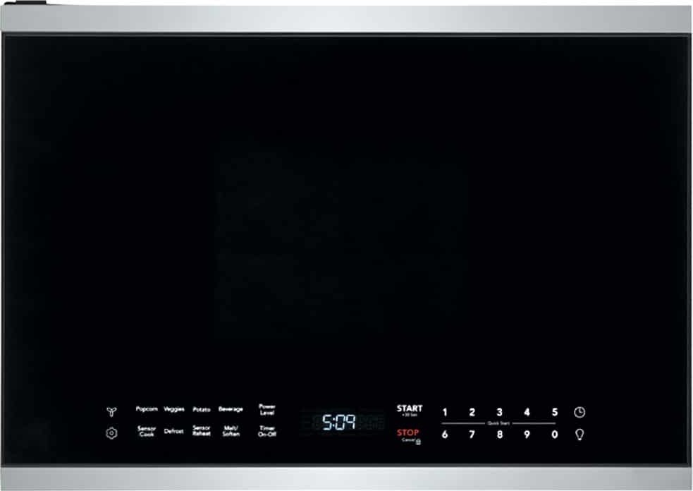 xo xootr24bs 24 inch over the range microwave 1000 watts 300 cfm venting
