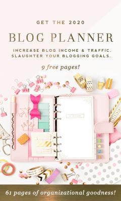 2020 Blog Planner - DesignerBlogs.com