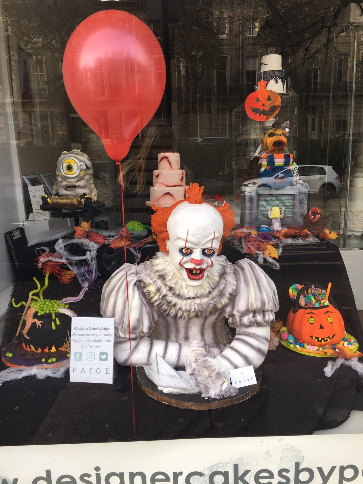 Pennywise Designer Cakes By Paige