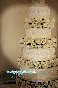 cake for wedding ivory luxury