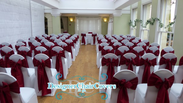 wedding at pembroke lodge chair covers