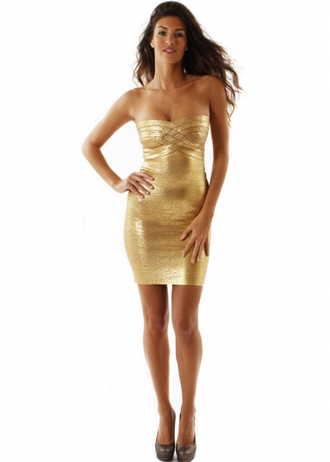 Luxe Couture Gold Venus Dress Luxe Couture Party Dresses