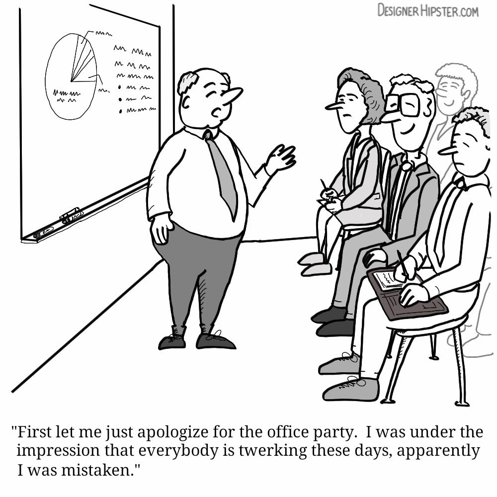 Funny Accounting Presentations
