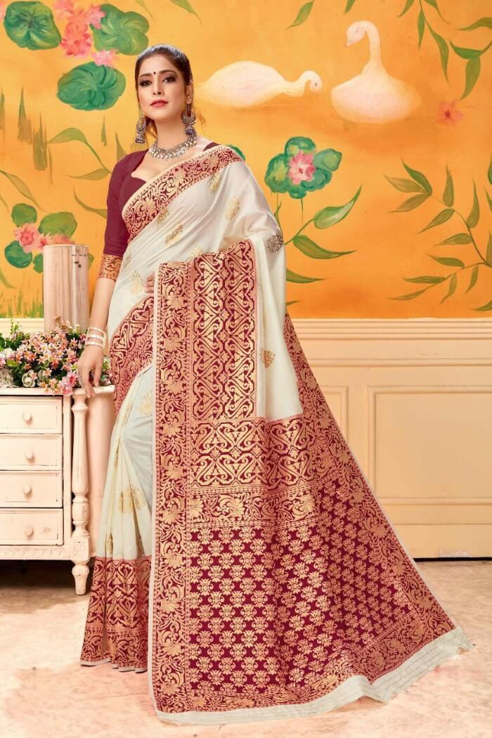 Delightful Banarasi Silk Saree