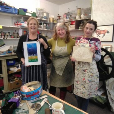 Printmaking – linocut 1 day course