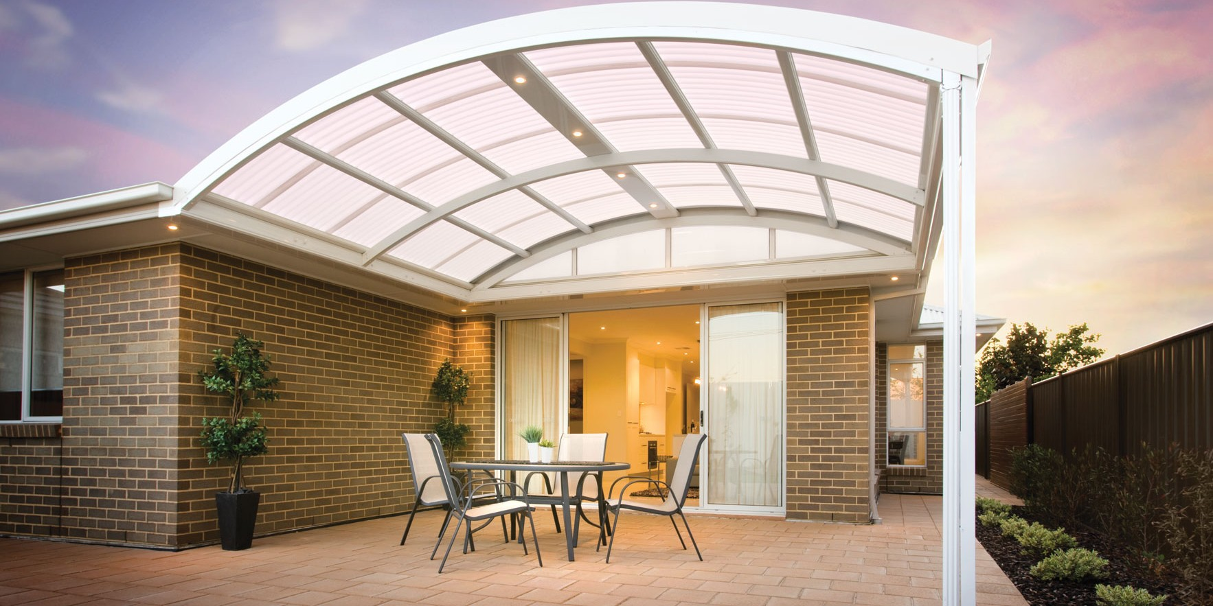 Outback Curved Stratco Geelong Verandahs Melbourne