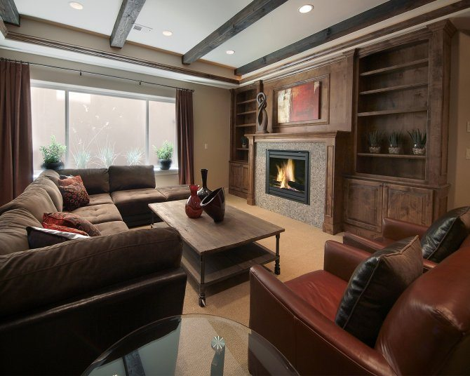 transitional family-room,