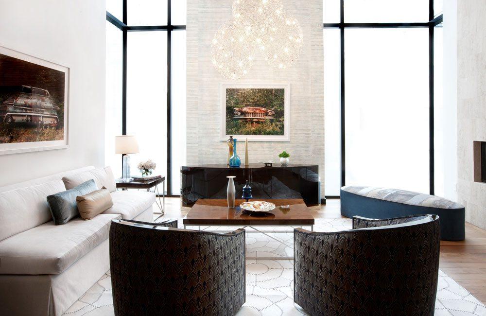 contemporary living room, erin