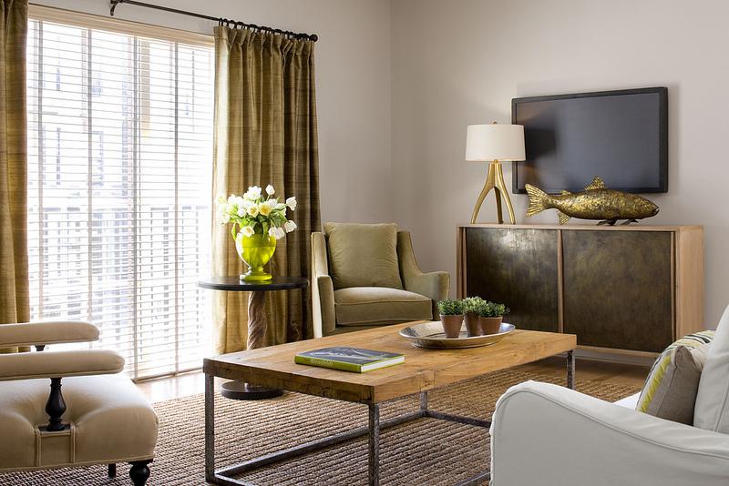 contemporary family room loft, lenore callahan, austin texas designer