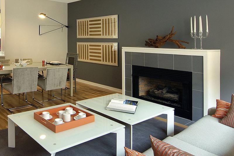 lenore callahan interior design, Roosevelt Square, CHICAGO: TOWNHOME MODEL