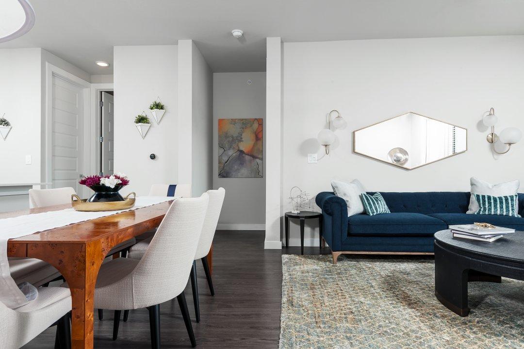 Lenore Callahan Interior Design,Austin Commercial Interior Photographer - The Bowie
