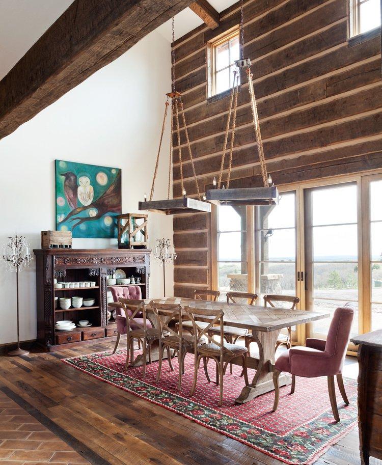 Jenn, romantic farm house dining room