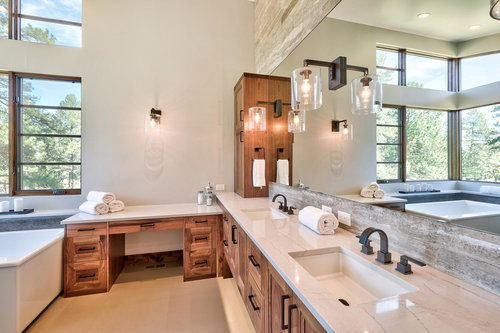Cassy Kicklighter Poole, kaleidoscope design denver. bathroom