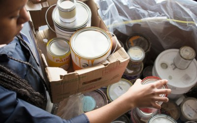 Dispose of Left Over Paint Safely at The Local Paint Store
