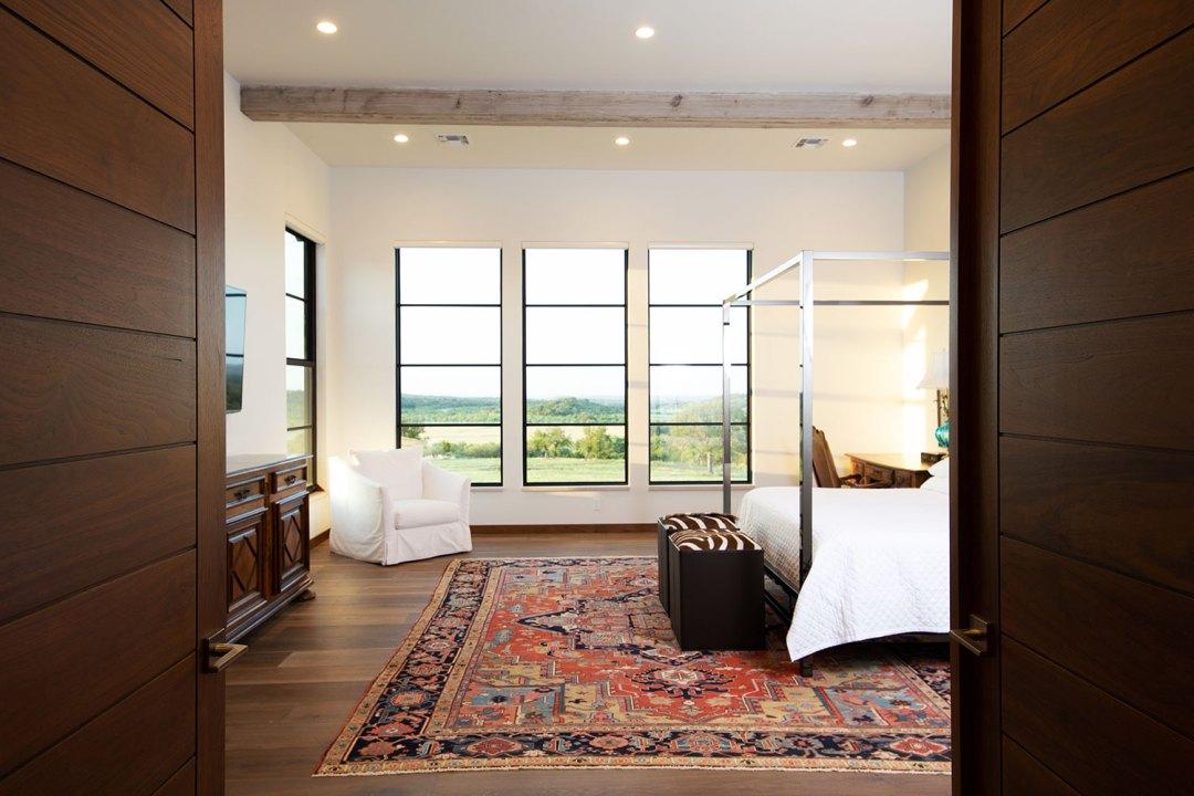 Doss Texas interior designer, Custom Home, lenore,bedroom