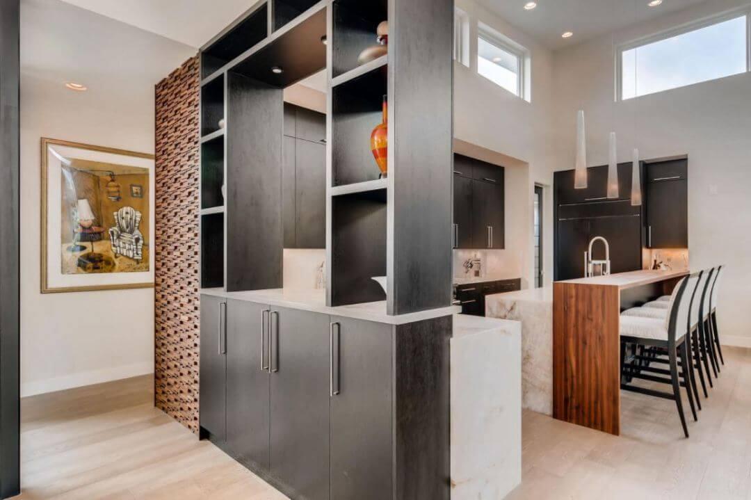 Mid-century modern, pam, kitchen built ins 1