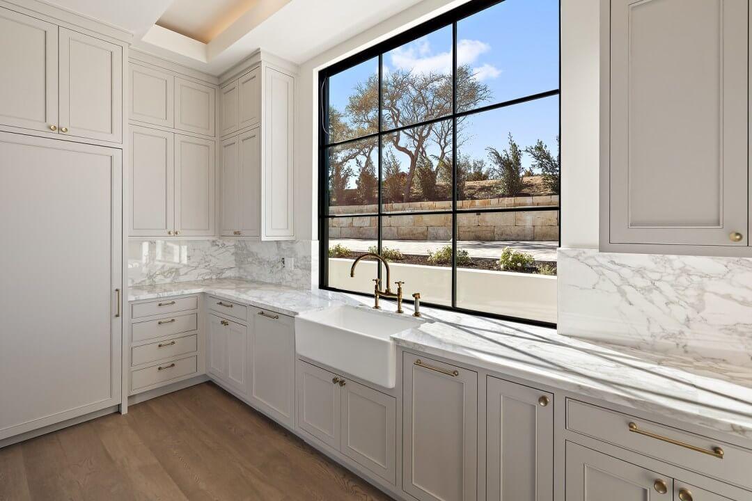 Lenore, lake austin, contemporary home , kitchen)