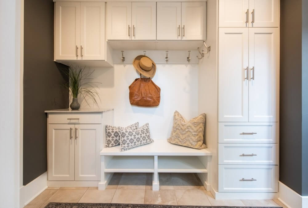 """Designing a Great Mudroom: Creating the Perfect """"Drop Zone"""""""