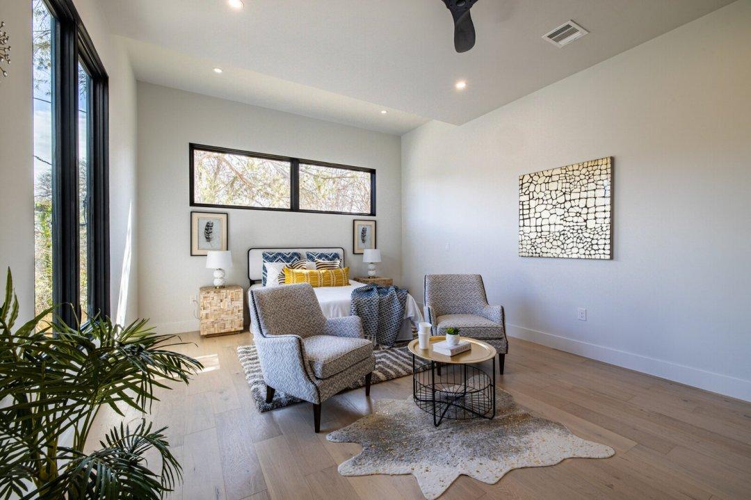 Lenore, Austin, TX designer, bedroom