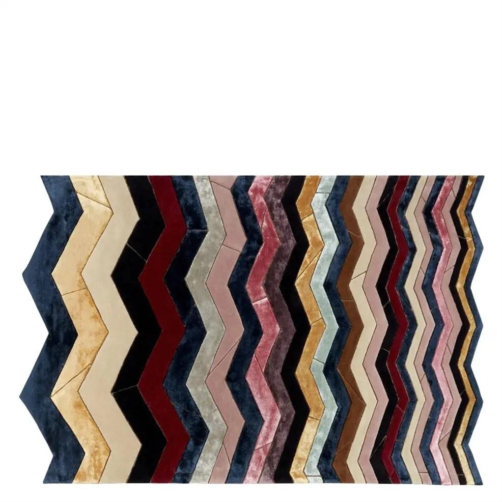 tapis peitra dura multicolore rug