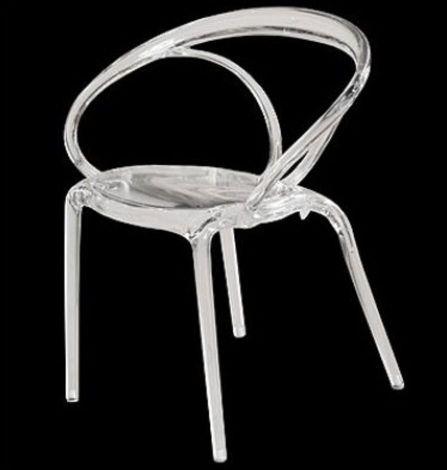 Stackable Transparent Chair