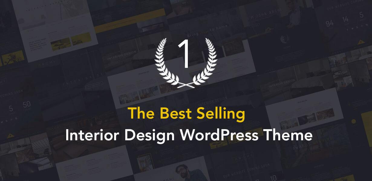 Archi - Interior Design WordPress Theme - 1