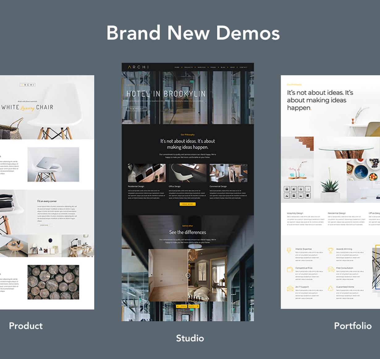 Archi - Interior Design WordPress Theme - 5