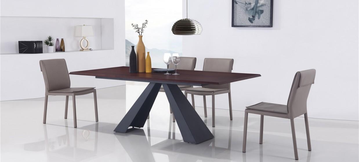 table a manger design en bois amalfi