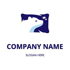 online pillow logo maker design a