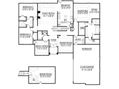 Leland A floor plan