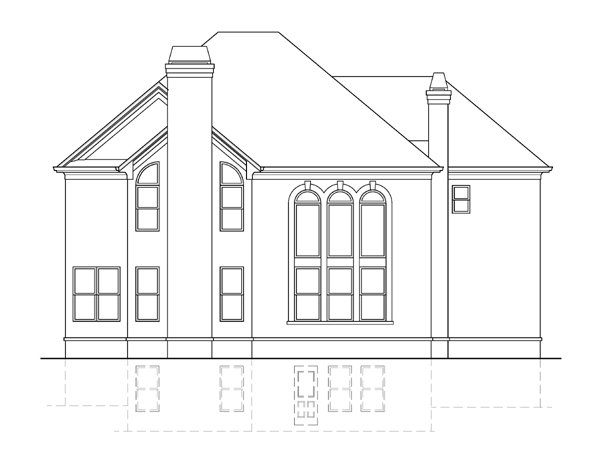 Radcliffe rear elevation