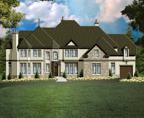 Yorkshire 2 House Plan rendering