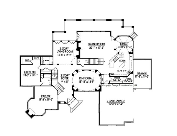 Yorkshire II first floor plan