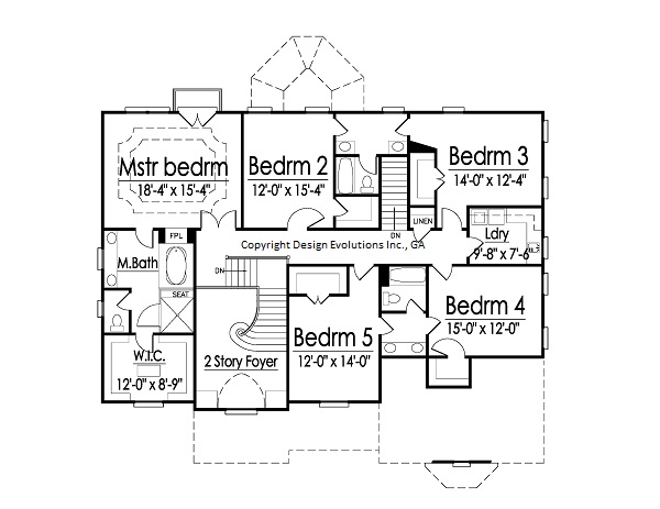 Cashton second floor plan