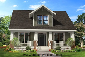 Bungalow craftsman style home