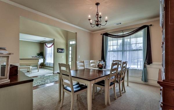 Montana house plan dining room