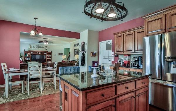 Montana house plan kitchen