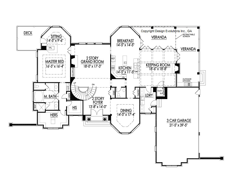 Wedale first floor plan