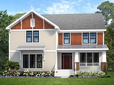 Huntsville house plan rendering