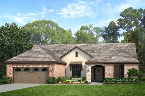 LoJack House Plan Rendering